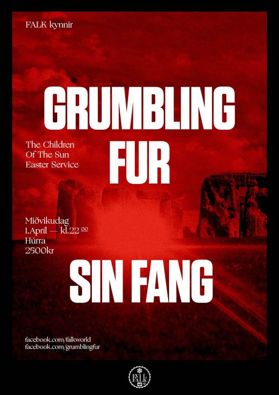 GRUMBLING FUR - LIVE IN ICELAND!